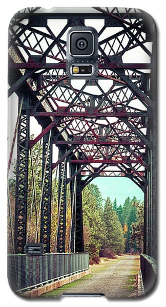 A Lovely Path Galaxy S5 Case by Mary Hone