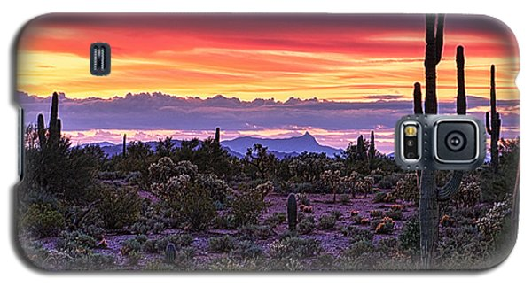 A Magical Desert Morning  Galaxy S5 Case
