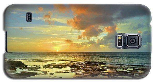 Galaxy S5 Case featuring the photograph A Marmalade Sky In Molokai by Tara Turner