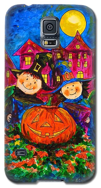 A Merry Halloween Galaxy S5 Case by Zaira Dzhaubaeva