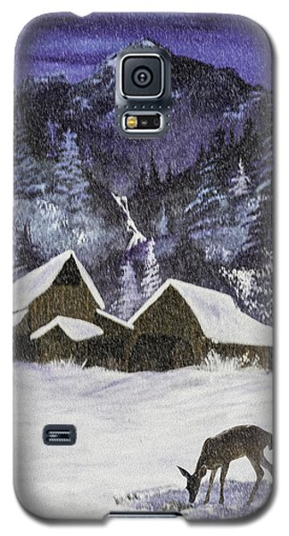 Galaxy S5 Case featuring the photograph A Midnight Clear A Variation by Diane Schuster
