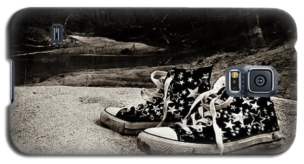 Galaxy S5 Case featuring the photograph A Mile In My Shoes by Jessica Brawley