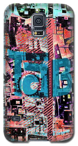 Galaxy S5 Case featuring the mixed media A Million Colors One Calorie by Tony Rubino