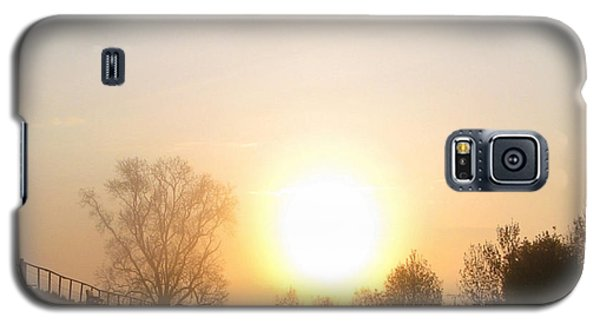 Galaxy S5 Case featuring the photograph A Misty Morning Walk by Charmaine Zoe
