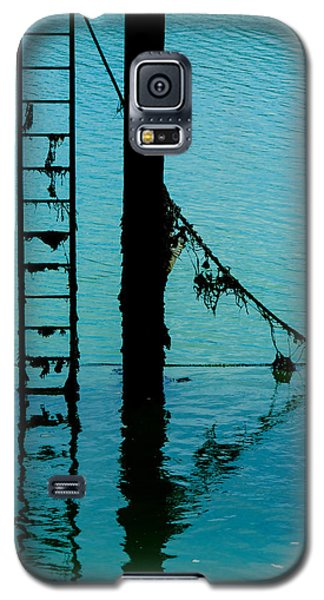 Galaxy S5 Case featuring the photograph A Modicum Of Maritime Minimalism by Chris Lord