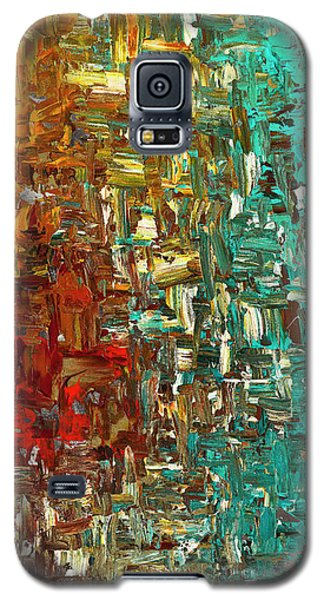 A Moment In Time - Abstract Art Galaxy S5 Case