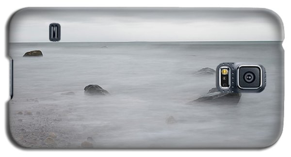 Galaxy S5 Case featuring the photograph A Moment In Time On The Beach by Andrew Pacheco