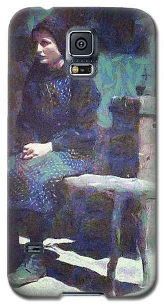 Galaxy S5 Case featuring the digital art A Moment Of Meditation by Gun Legler