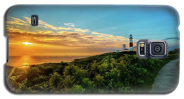 A Montauk Lighthouse Sunrise Galaxy S5 Case