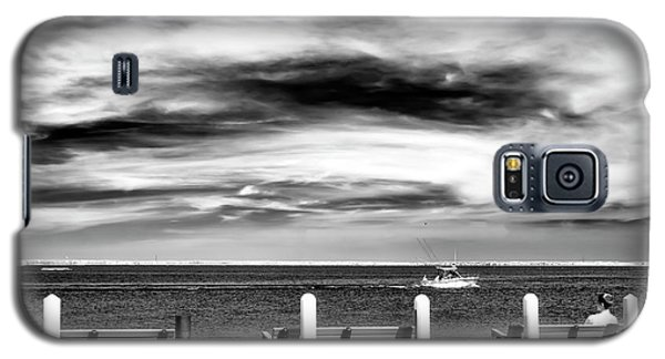 Galaxy S5 Case featuring the photograph A Morning Bay View by John Rizzuto
