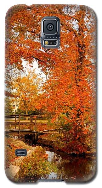 A Morning In Autumn - Lake Carasaljo Galaxy S5 Case