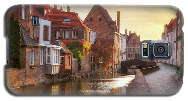 A Morning In Brugge Galaxy S5 Case by JR Photography