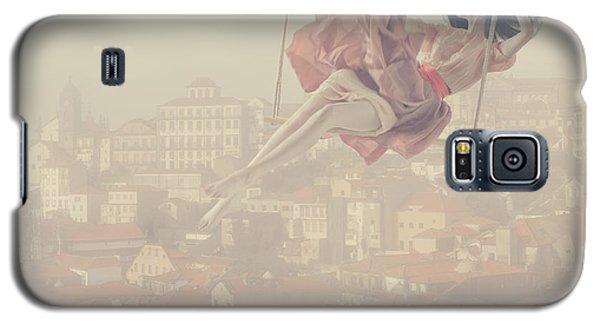 Surrealism Galaxy S5 Case - a morning over Oporto by Anka Zhuravleva