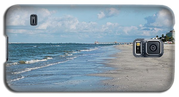 A Morning Walk On Fort Myers Beach Fort Myers Florida Galaxy S5 Case