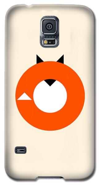A Most Minimalist Fox Galaxy S5 Case