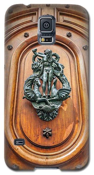 A Most Unusual Door Knocker In Geneva Old Town  Galaxy S5 Case