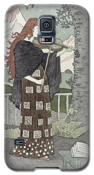 A Musician Galaxy S5 Case by Eugene Grasset