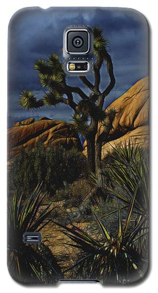 A Mysterious Stormy Desert Sky Galaxy S5 Case
