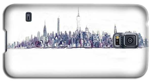 A New Year In Manhattan Galaxy S5 Case
