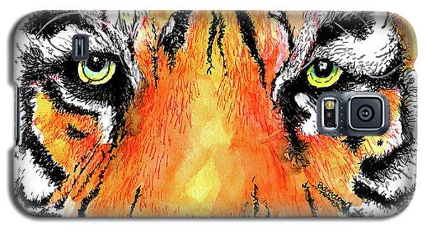 A Nice Tiger Galaxy S5 Case by Terry Banderas