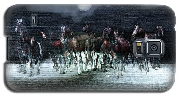 A Night Of Wild Horses Galaxy S5 Case