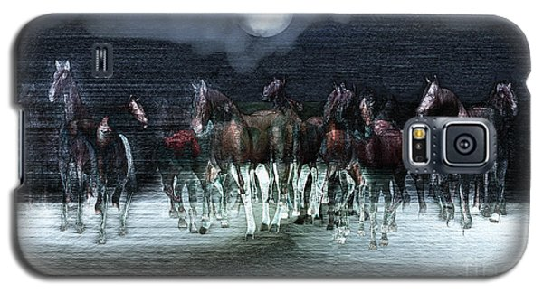 A Night Of Wild Horses Galaxy S5 Case