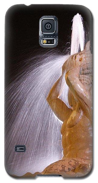A Nighttime Shower Galaxy S5 Case