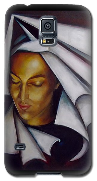 A Nun Galaxy S5 Case by Irena Mohr