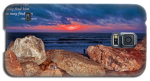 A Painted Sky For The Poet's Eye Galaxy S5 Case by Jim Fitzpatrick