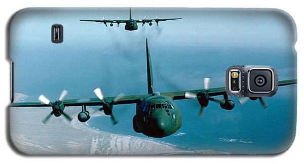 A Pair Of C-130 Hercules In Flight Galaxy S5 Case