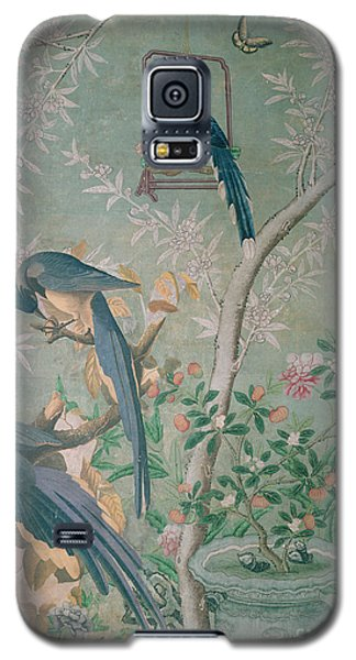A Pair Of Magpie Jays  Vintage Wallpaper Galaxy S5 Case
