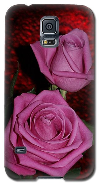 A Pair Of Pink Roses Galaxy S5 Case