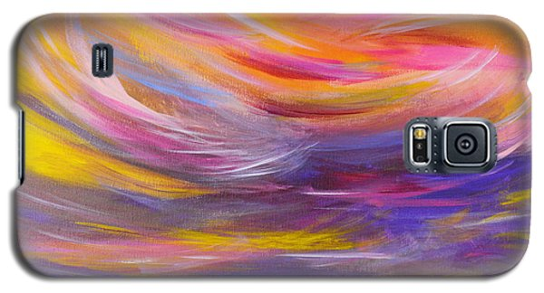 A Peaceful Heart - Abstract Painting Galaxy S5 Case