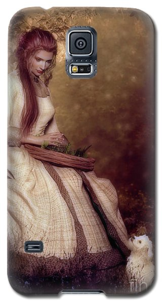 Galaxy S5 Case featuring the digital art Lost In Thought by Shanina Conway