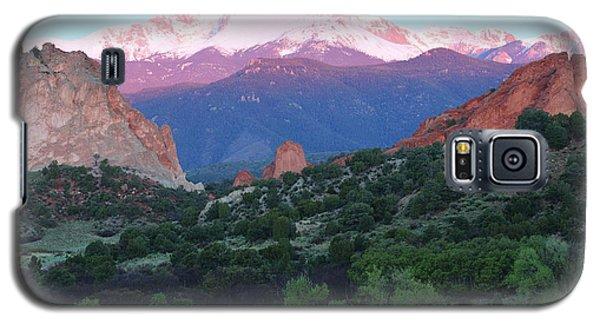 A Pikes Peak Sunrise Galaxy S5 Case