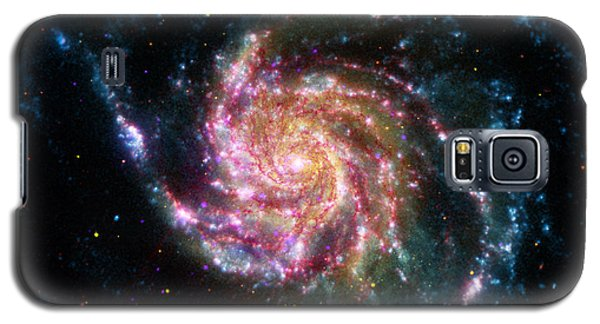 A Pinwheel In Many Colors Galaxy S5 Case