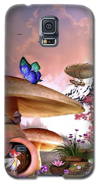 A Pixie Garden Galaxy S5 Case