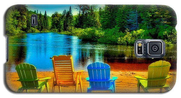 A Place To Relax At Singing Waters Galaxy S5 Case