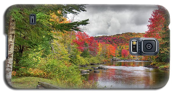 A Place To View Autumn Galaxy S5 Case