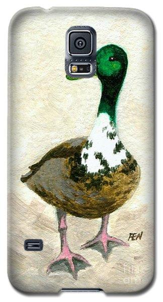 A Proud Duck Galaxy S5 Case by Jingfen Hwu