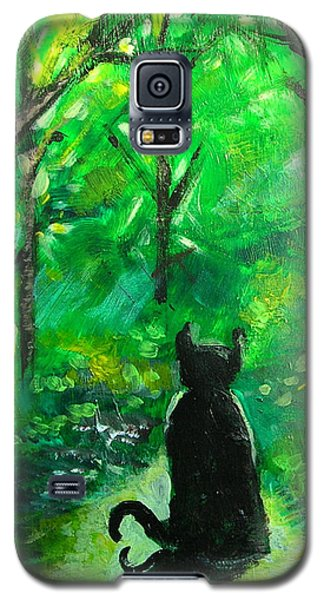 A Purrfect Day Galaxy S5 Case