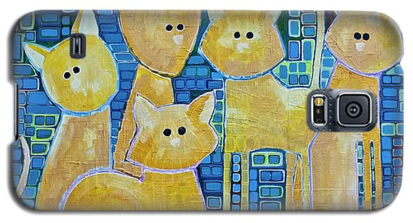 A Quorum Of Cats Galaxy S5 Case