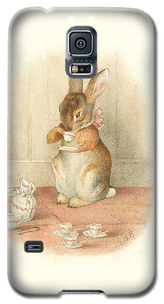 A Rabbit's Tea Party Galaxy S5 Case