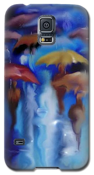 A Rainy Day In Paris Galaxy S5 Case by Darren Cannell