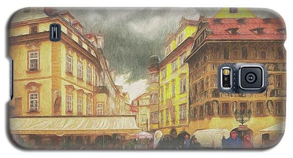 A Rainy Day In Prague Galaxy S5 Case