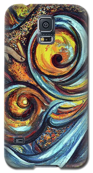 Galaxy S5 Case featuring the painting A Ray Of Hope by Harsh Malik