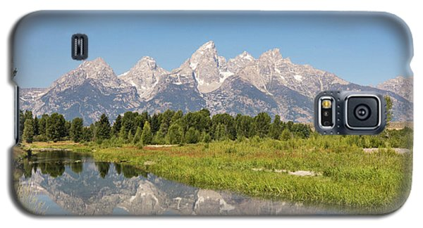 A Reflection Of The Tetons Galaxy S5 Case