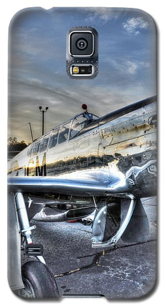 A Reflective Mustang Galaxy S5 Case by David Collins