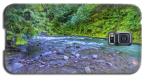 Galaxy S5 Case featuring the photograph A River by Jonny D