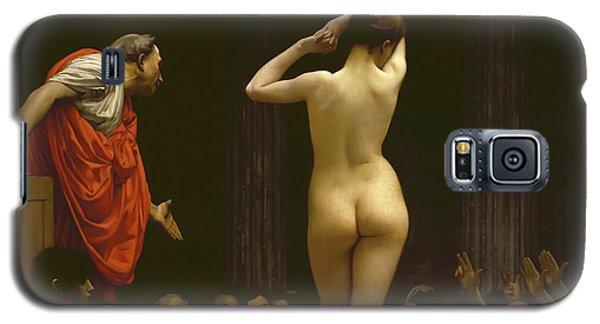 A Roman Slave Market, Jean Leon Gerome Galaxy S5 Case